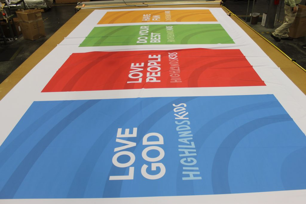 church banner production