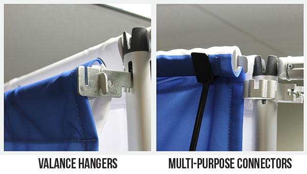 valace hangers vs. connectors